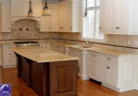 Colonial Cream Granite Kitchen Bathroom Fantastic Two Tone Kitchen Cabinets And Large Kitchen