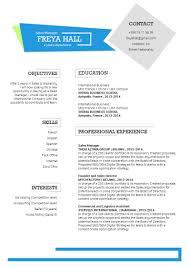 Create A Simple Resumes Simple Cv Template Innovative Resume Mycvfactory