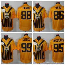 Greg Mens Swann 99 2018 Keisel Ward 95 Short Pittsburgh Jerseys Steelers Hines Lloyd From Brett 86 Lynn Sleeve Jerseyptb11 88 Limited Yellow