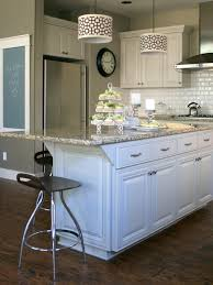 Cabinet And Lighting How To Paint A Kitchen Island Cabinet And Lighting