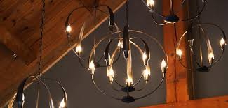 cirque chandelier hubbardton forge lighting