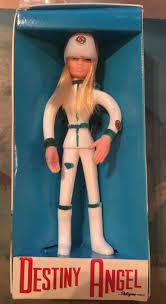 captain scarlet 1967 pedigree bendy doll destiny angel boxed vine rare 75 figure is