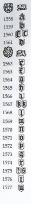 london hallmarks 1558 1577