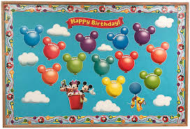 Mickey Mouse Job Chart Eureka Disney Mickey Mouse Clubhouse Birthday Bulletin Board Set Classroom Decoration For Teachers 24 Pcs
