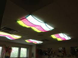 i love these classroom light filters for covering my fluorescent lights creates an inviting atmosphere