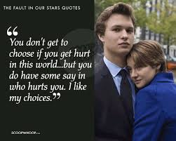 Quotes From The Fault In Our Stars Cool 48 Quotes From 'The Fault In Our Stars' About Love Pain Grief