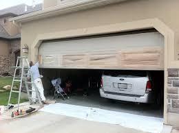 painting metal garage door