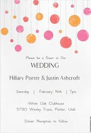 Online Wedding Invite Template Free Email Invitation Template Template Business