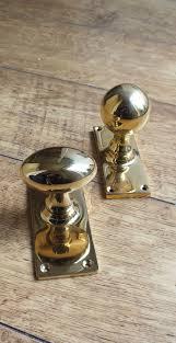 45 best Brass Door Knobs images on Pinterest | Door furniture ...