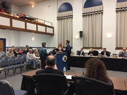 local vfw celebrates patriots pen and voice of democracy essay voice of democracy winner hayley riddle credits roxbury township public schools