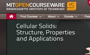 open courseware  MIT Open Courseware