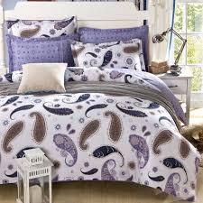 purple paisley sheets
