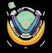 Kansas City Royals Seating Chart Kansas City Missouri