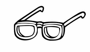 Kleurplaat Bril Ausmalbild Menschen Und Ihr Zuhause Brille