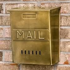vertical wall mount mailbox. Vertical MAIL Wall Mount Brass Mailbox Antique Outdoor Inside Vintage Decor  10 Vertical Wall Mount Mailbox