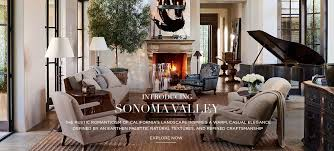 introducing sonoma valley the rustic romanticism of california s landscape inspires a warm casual elegance