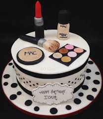 pictures of mac makeup cakes