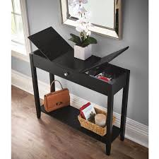 sofa table with storage. The Hidden Storage Console Table Sofa With N