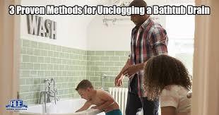 how do i unclog my bathtub drain