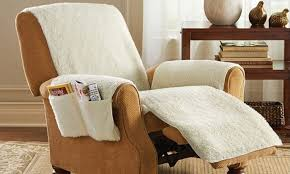 chair covers for home. Home Wallpaper As Seen On Tv Snuggle Up Recliner Seat Cover With 4 Storage Pockets Chair Covers For