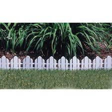 flower garden border fence elegant emsco dackers fence landscape edging white lawn of flower garden border