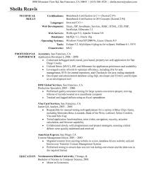 Sample Mainframe Resume Resume Format Forame Experienced Years Experience Sample In 17
