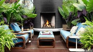 Image Melbourne Rooftop Fireplace House Beautiful Indoor Outdoor Rooms Outdoor Room Decorating Ideas