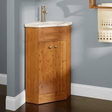 Bamboo Bathroom Cabinets 23 Holbrook Corner Bamboo Vanity Bathroom