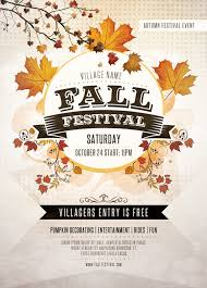 Fall Flyer Fall Festival Flyer Template You Can Download The Psd File