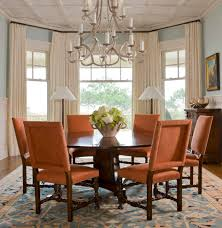 Dining room bay window ideas dining room traditional with dining table wood  trim