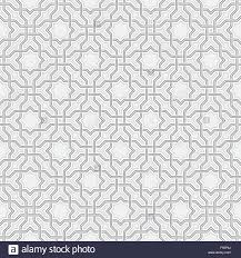 Arabesque Pattern Enchanting Arabesque Pattern In Arabian Style Seamless Vector Background Gray