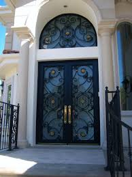 wrought iron glass entry doors choice image doors design ideas intended for size 1920 x 2560