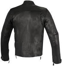 alpinestars mens brera armored leather jacket black alpinestars mens brera armored leather jacket black