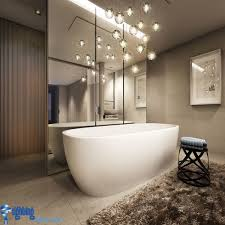 modern bathroom lighting ideas. Bathroom Lighting Ideas: With Hanging Lights Over Bathtub Modern Ideas