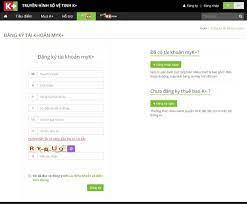 Cách đăng ký tài khoản myK+ - Truyền hình số vệ tinh K+