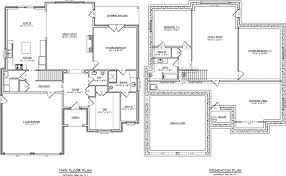 One Level House Plans With Basement New Single Story With Basement Single Level House Plans