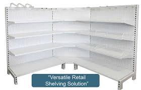 versatile retail shelving unit gondola shelving