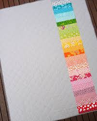 Red Pepper Quilts: Zig Zag Rail Fence Quilt and New Quilt Pattern & I have kept the back of the quilt quite simple adding just a single strip  of printed fabrics in a rainbow of colors which nicely complement the front  of the ... Adamdwight.com