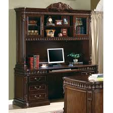 computer hutch home office traditional. traditional home office computer desk with hutch in rich brown finish by coaster 800801 t