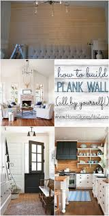 how to build plank wall