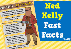 ned kelly fast facts poster printable classroom displays  ned kelly fast facts poster