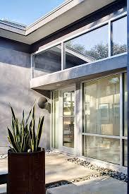 Simple modern home design Front View In Gallery Stylishlysimplemodern1storyhouse6jpg Trendir Stylishly Simple Modern One Story House Design