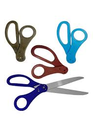 Scissors With Light 25 Inch Blue Ribbon Cutting Scissors With Red Black And Light Blue Handles Ribbon Cutting Scissors Grand Opening Supplies