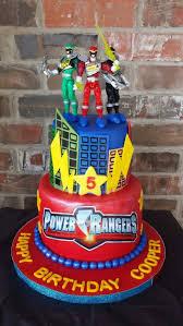 power rangers birthday cake power ranger party ideas