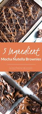 Nutella Topped Brownies Best 20 Boxed Brownies Ideas On Pinterest Box Brownie Recipes