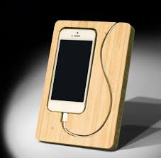 new dock desktop holder for apple iphone 5 5s 5chandcrafted renewable bamboo
