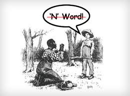 huckleberry finn and the n word the weave is it not ironic that their ally in this fray would be a white literary critic from the deep south