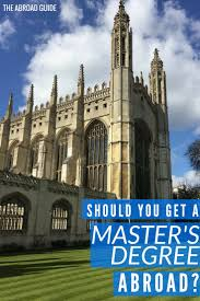 should you get a master s degree abroad the abroad guide graduate programs abroad are cheap