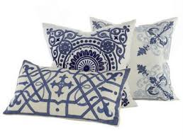 blue and white pillows. Brilliant White Blue And White Pillows Throughout Blue And White Pillows