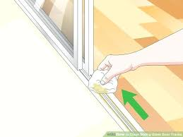 sliding window lubricant image titled clean sliding glass door tracks step
